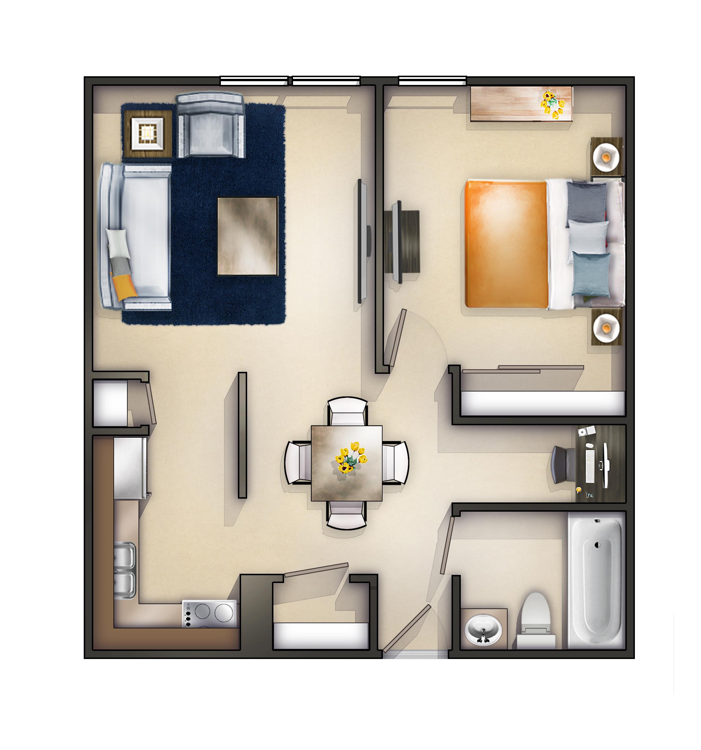 Bedroom Apartments Rockford Il